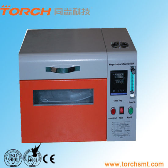 Desk Small SMT Lead Free Reflow Oven pictures & photos