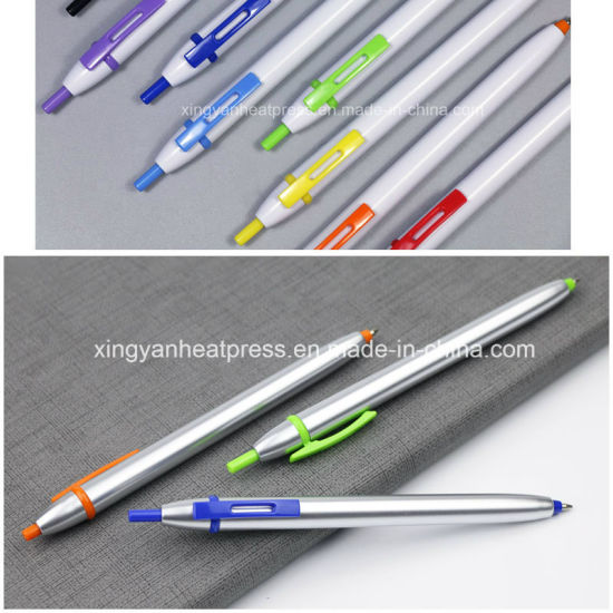 Sublimation Click Ball Pen for Promotion pictures & photos