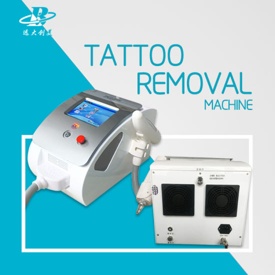 Powerful Q Switched ND YAG Laser Tattoo Removal Machine for Sale pictures & photos