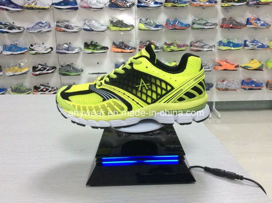 LED Magnetic Maglev Levitron Levitation Floating Rotating Holder for Sports Shoes pictures & photos