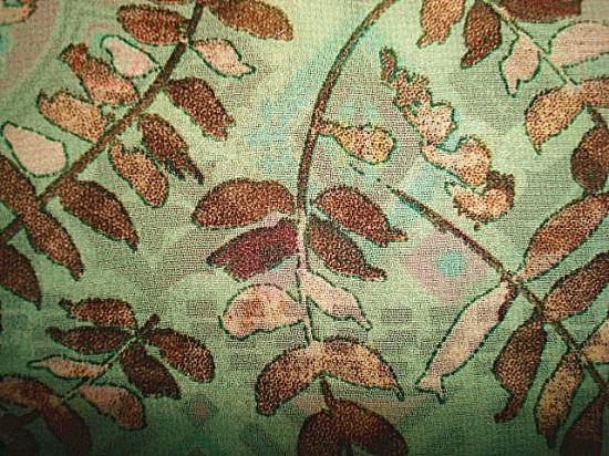 Koshibo Print Fabric for Lady Garment Use