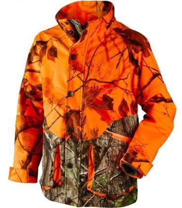 Hi -Viz Camouflaged Waterproof Shooting Hunting Jacket