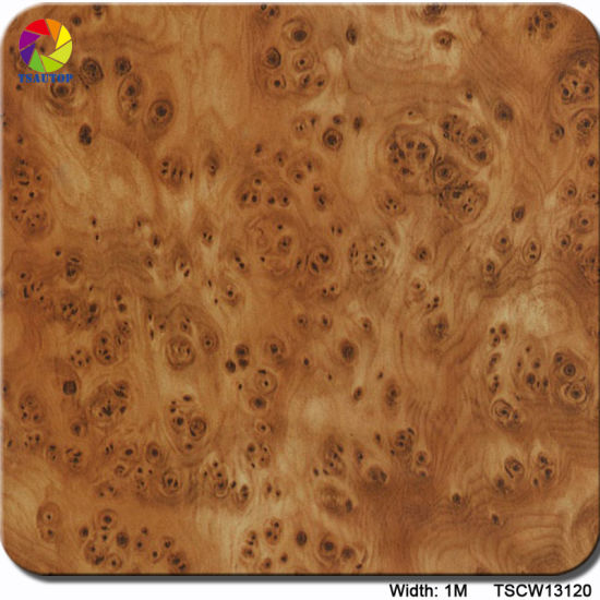 Tsautop 1m Tswd12461 Walnut Wood Grain Water Transfer Printing Film pictures & photos
