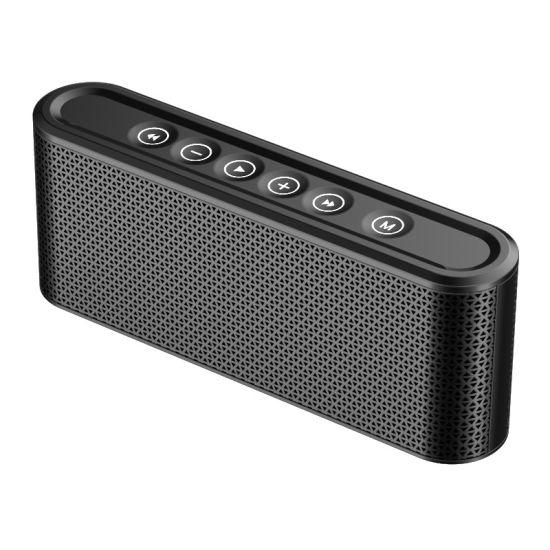 High Quality Custom Logo 8000 mAh MP3 Radio Stereo Bass Portable Mini Metal Bluetooth Speaker