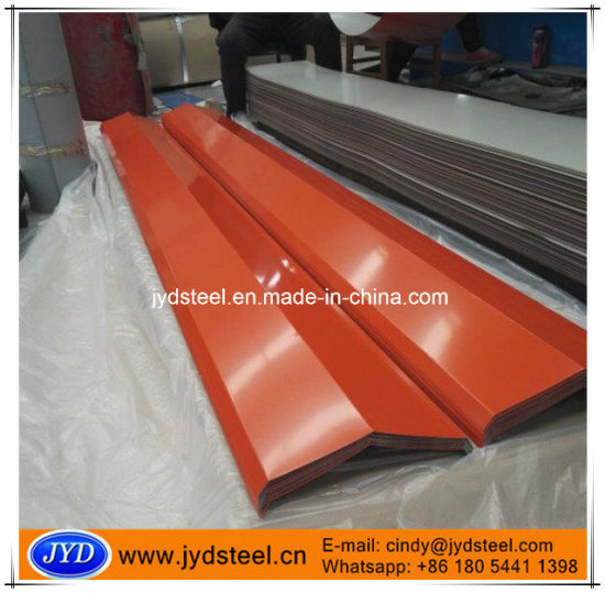 Color Coated Galvanized Steel Roof Gutter pictures & photos