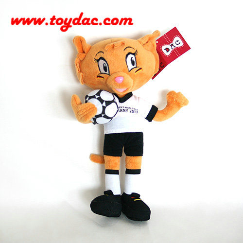 Plush Football Club Fox Toy