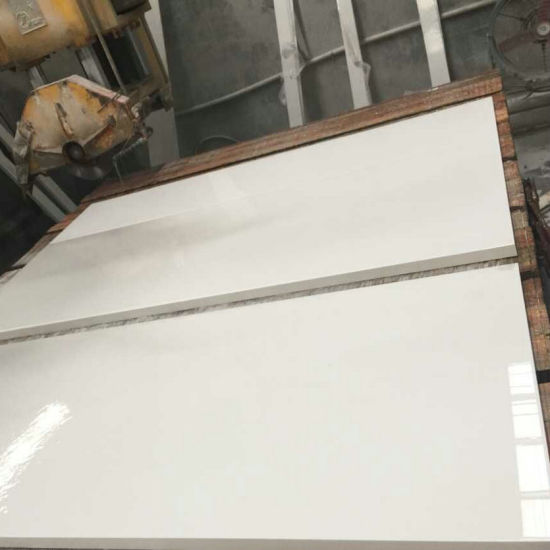 Pure White Quartz Stone Countertop Slabs pictures & photos