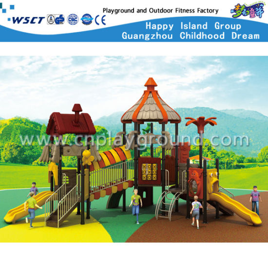 China Children Outdoor Playground Plastic Slide Play Toys Hd Tsh007
