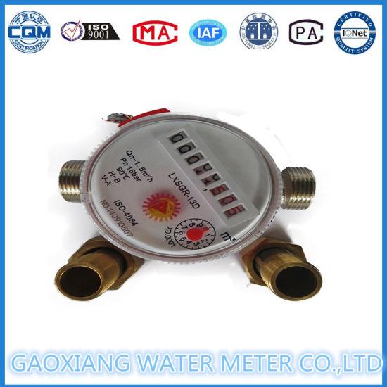 Single Jet Dry Type Brass Body Water Meter