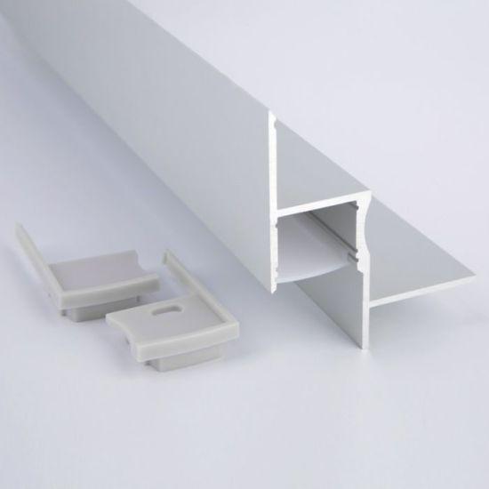 Alu5666 Corner Accent Aluminum Profile Housing LED Strips Channels Aluminum LED Profile for Ceiling LED Strip