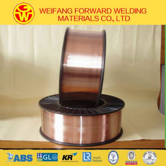 1.2mm 15kg/Spool Golden OEM Factory CO2 Welding Wire Er70s-6 Welding Wire Sg2 with Copper Coated pictures & photos