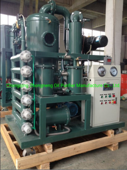 Double Stage Vacuum Machine Oil Purifier for Transformer Oil
