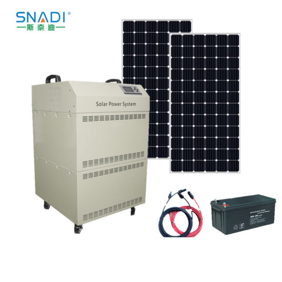 2kw Hybrid Solar Power Inverter with Charge Controller