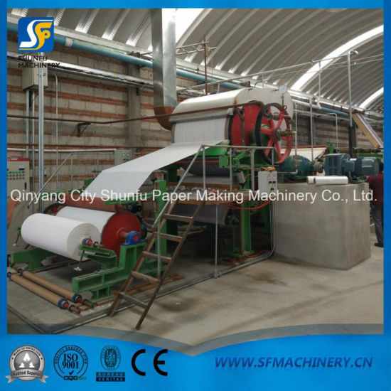 1092mm Tissue Paper Making Machine with Bottom Price High Quality