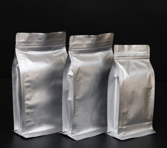 China Product Tin Tie Coffee Bags Wholesale Coffee Beans Custom Packing