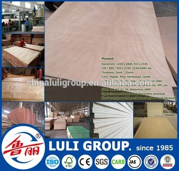 Poplar Plywood with Fancy Veneer Directly From Luli Group pictures & photos