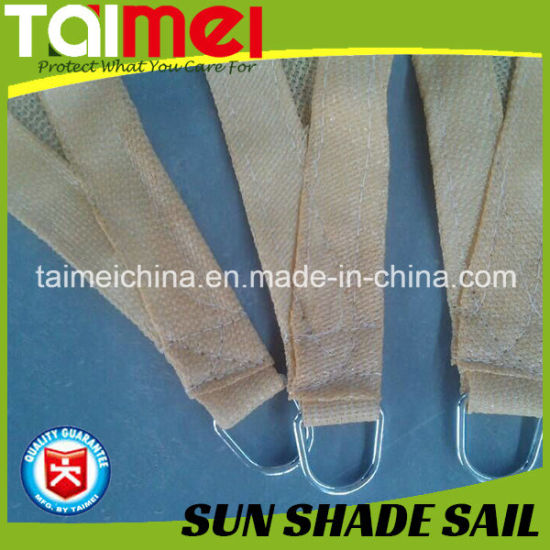 High Quality 320GSM/160GSM PE Sun Shade Sail with UV Treated pictures & photos