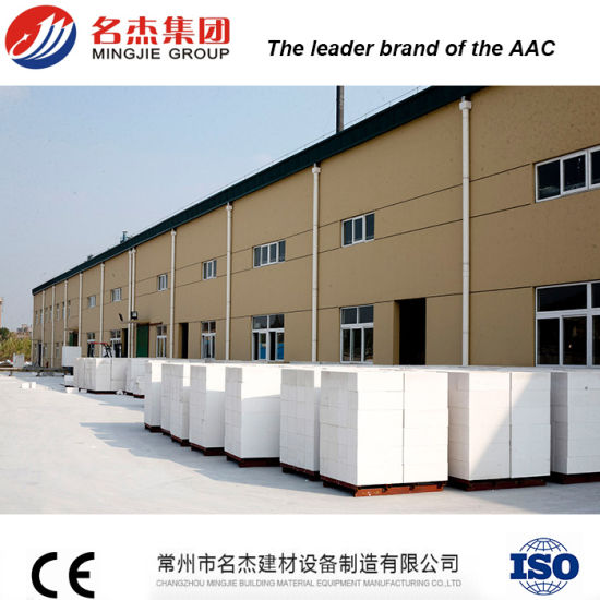 Autoclaved Aerated Concrete Block Manufacturing Equipment pictures & photos