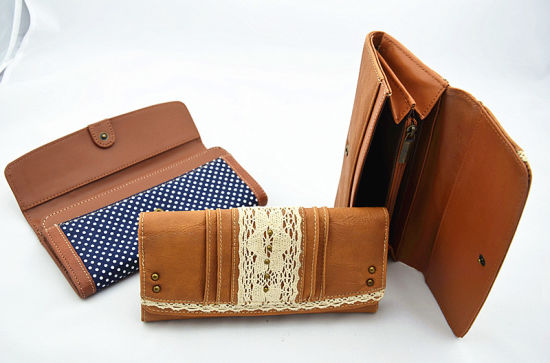 Fashion Lady PU Wallet/Purse/Bag (JYW-27008) pictures & photos