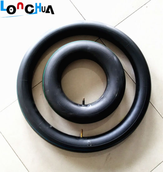 Qingdao Factory Natural Motorcycle Inner Tube (4.00-8) pictures & photos