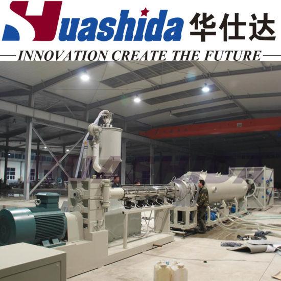 China Vacuum Calibrating Method Pe Hdpe Plastic Insulating