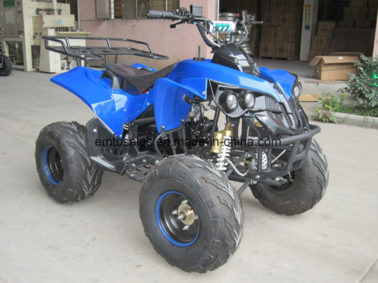 Reverse Gear in Max Speed of 65km/H with New Kawasaki Style 125cc ATV Quad (ET-ATV048) pictures & photos
