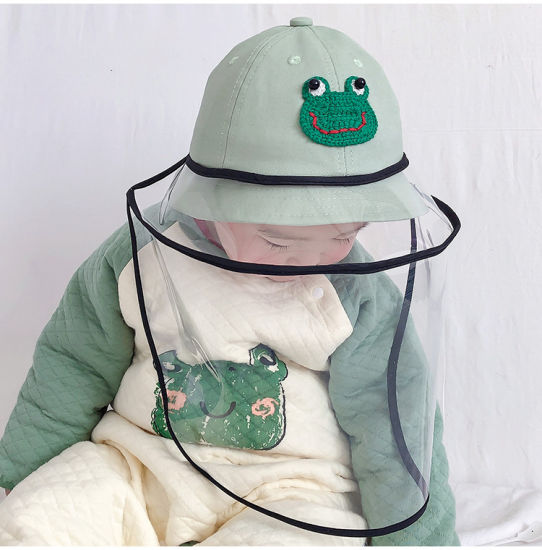 Baby Hat Spring and Autumn Thin Style Baby Foam Protective Headwear Boys and Girls Fisherman Hat Cute Super Adorable Sun Hat