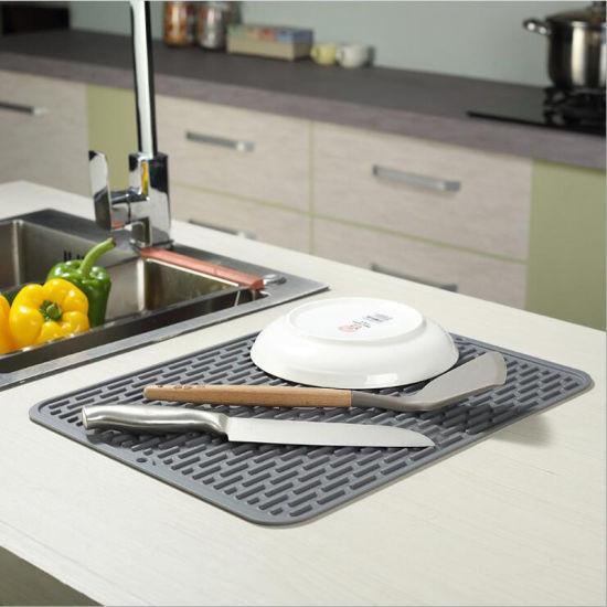 Dish Drying Mat Flexible Rubber