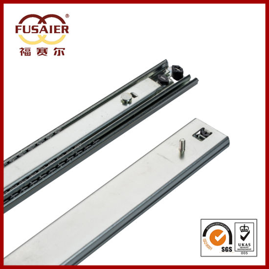 53mm with Screw Heavy Duty Ball Bearing Drawer Slide pictures & photos