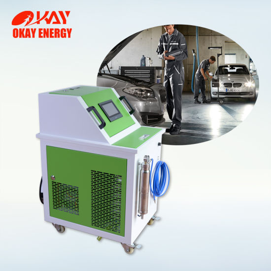 China Motorcycle Car Engine Carbon Cleaning Machine for BMW