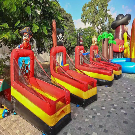 4 in 1cheap Inflatable Shot Basketball Game, Inflatable Shooting Game with Cheap Price for Carnival