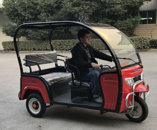 Adult Electric Motor Three Wheel Passenger Tricycle Motorcycle pictures & photos