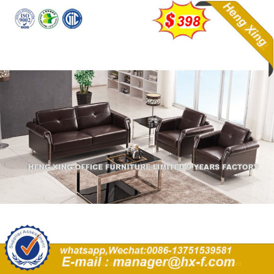 Cheap Modern Furniture Simple Leather Office Sofa (HX-S30111) pictures & photos