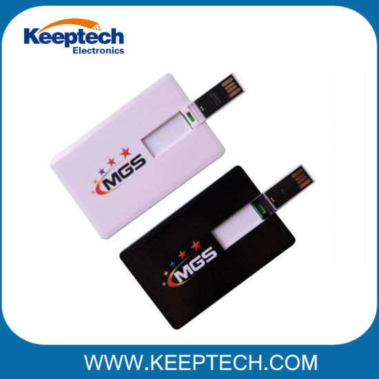 Credit Card USB Flash Drive with Full Printing for Promotional Gifts