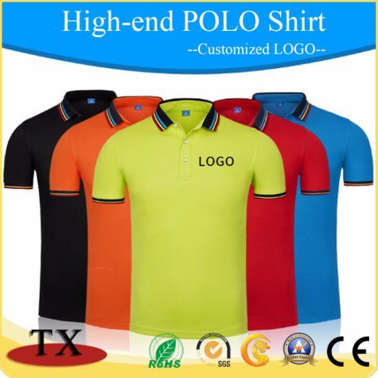 China Cotton Plain Embroidered Sports Polo Shirt China Clothing