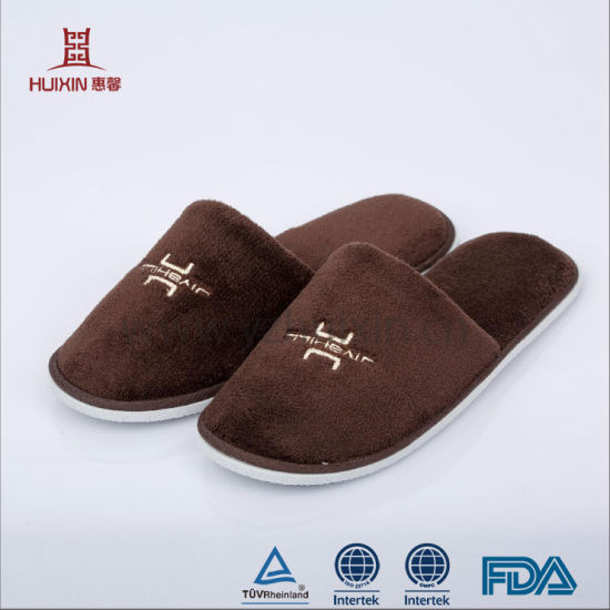 2018 Factory Hot Sale Disposable Cheap Hotel Slipper EVA