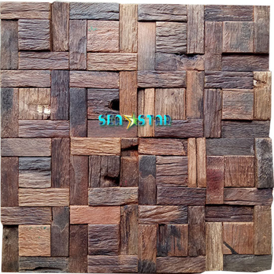 China Factory Price Reclaimed Wood Paper Hardwood Wood Panel For Home Decoration China Wall Panel Decoration