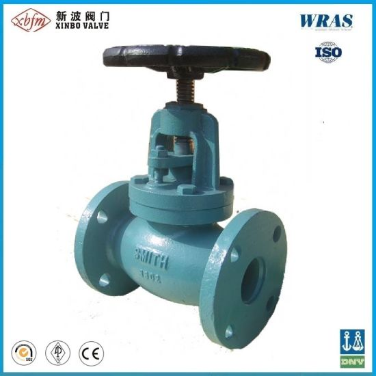 Gg25 Pn10 Pn16 Cast Iron Globe Valve DIN Standard pictures & photos