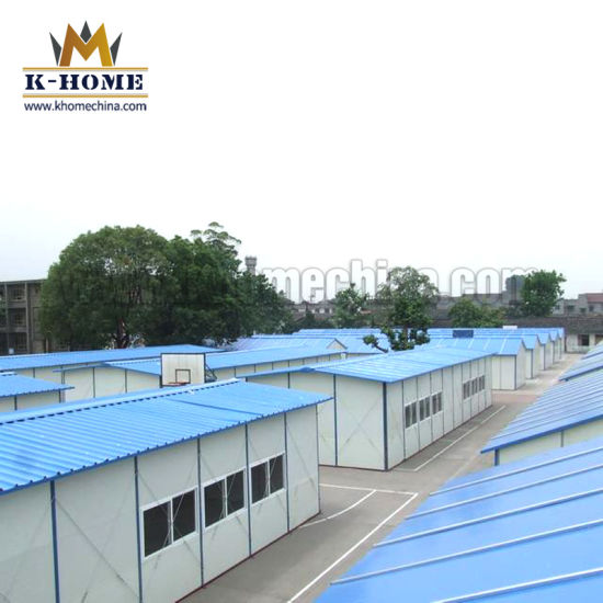 Low Cost Collapsible Structure Prefabricated House for Labor Camp