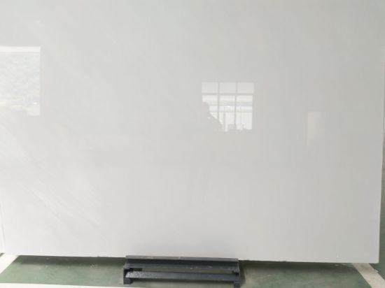 White Marble China Pure Royal Slab For Flooring Tile