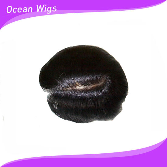 Monofilament Lace Toupees (TP-010) pictures & photos
