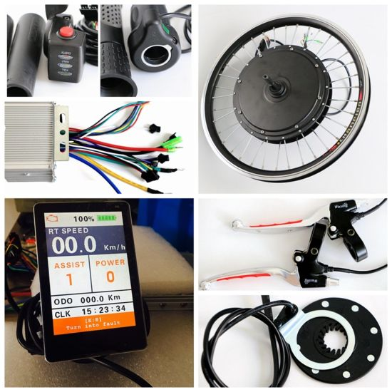Agile 1000W Electric Bike Kit with Colourful Display pictures & photos