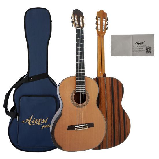 Java Ebony Aiersi Brand Professional Smallman Classic Guitar