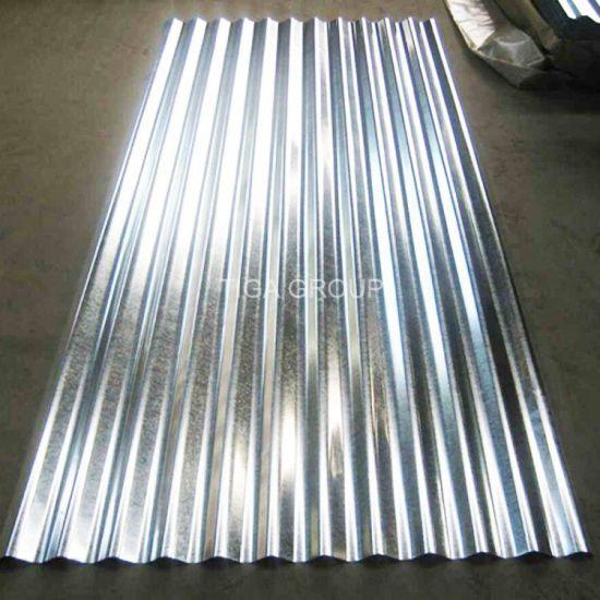 China Corrugated Galvanized Steel Roof Tile Zinc Coated