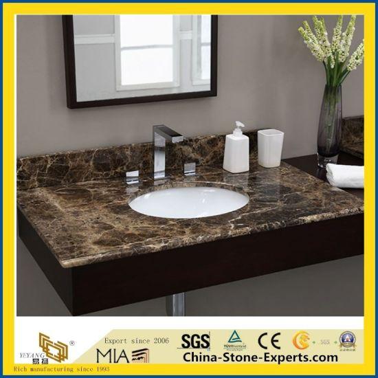 China Carrara Marble Granite Quartz Stone Table Top For Hotel Dining