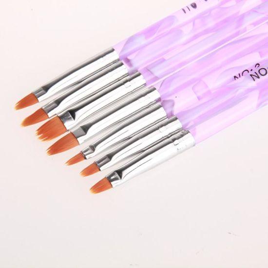 China Art Supplies Nail Painting Brushes Nail Polish Pen China