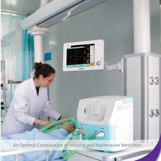 Medical Equipments Mobile Energy Recovery ICU Pediatric Anaesthesia Ventilator Machine pictures & photos