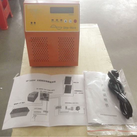 500W Solar Inverter Controller Battery Hybrid Box pictures & photos