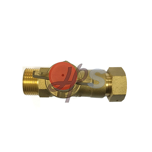 Cw617n Brass Lockable Water Meter Ball Valve with Extension Pipe pictures & photos