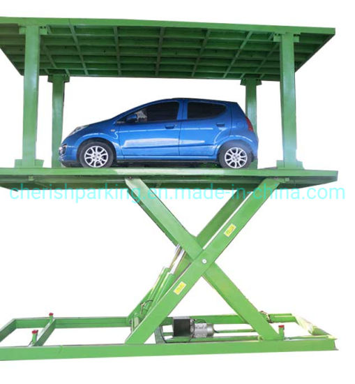 Hydraulic Scissor Car Parking Lift with Double Platform
